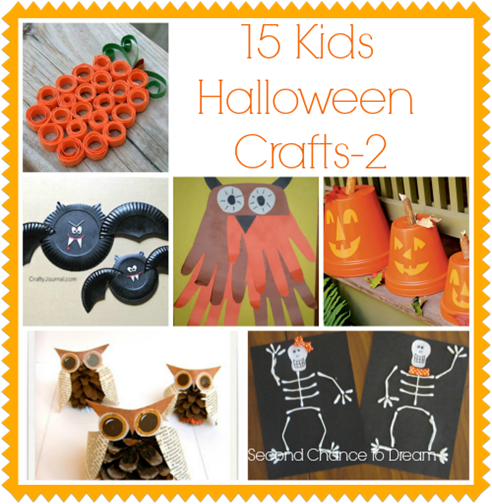 15 Kids Halloween Crafts