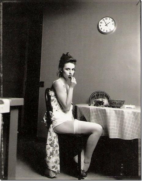 Bettina Rheims_  Lio et les cerises. Paris. 1986.