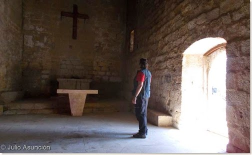 Ermita de San Miguel Arcángel - Villatuerta - interior