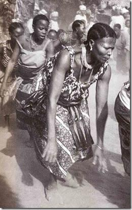 como é o candomblé na africa