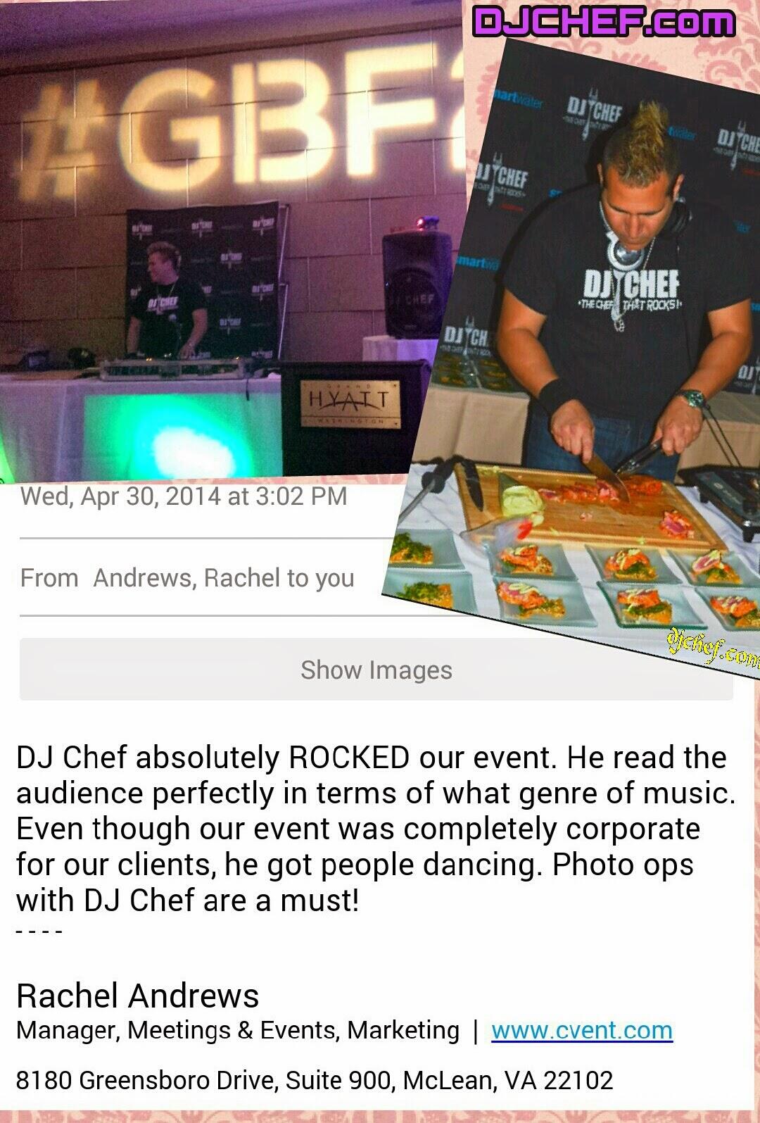 DJ CHEF\'s Bachelorette Cooking Class Parties