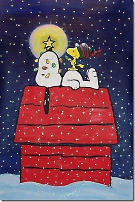 snoopy caseta perro nieve (10)
