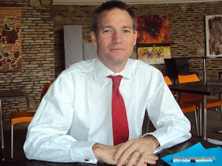 Neil Wigan, ambassadeur de la Grande Bretagne en RDC