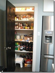small pantry layout