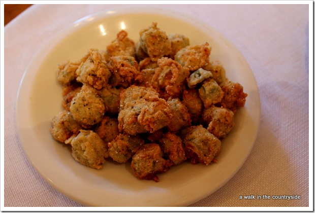 deep fried okra