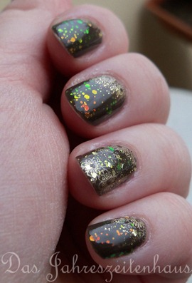 kleancolor chunky holo black design 6