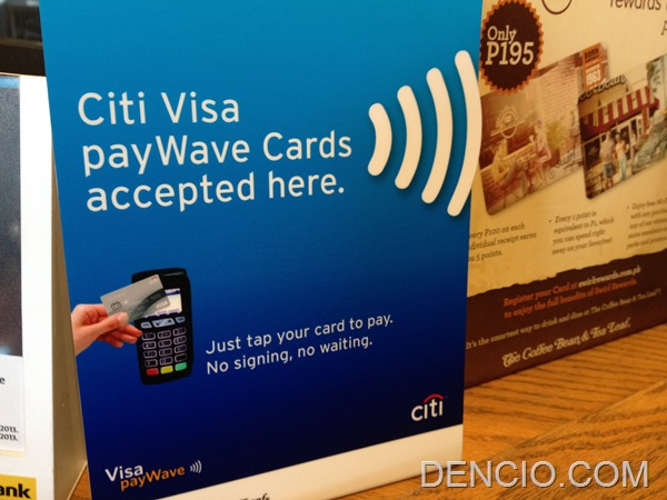 Citibank Visa PayWave Philippines 01