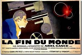 affiche la Fin du monde 1930