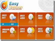 Easy Burner programma gratis in italiano per masterizzare CD e DVD su Windows