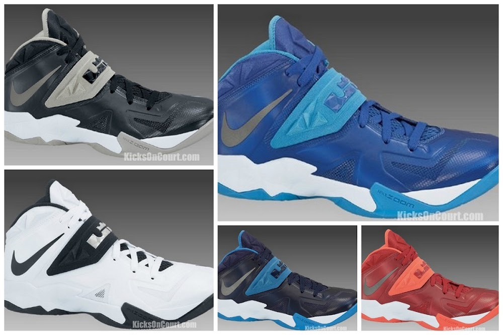 32b45aed912 Nike Zoom Soldier VII in 5 Different Team Bank Colorways ...
