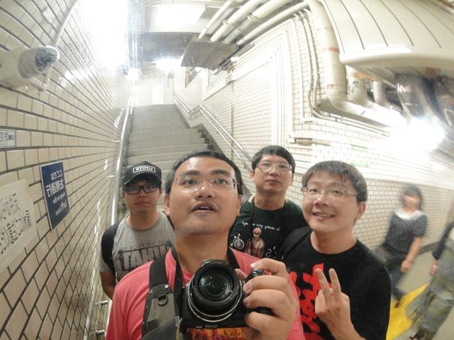 觀光客的行為