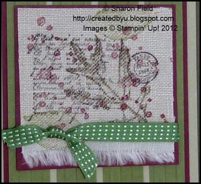 Gumball Green stitched Taffeta Ribbon