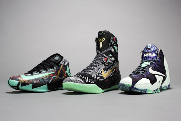 NOLA Gumbo League Collection Including Nike LeBron 11 AllStar