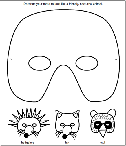 Máscaras de Carnaval: máscaras de animales