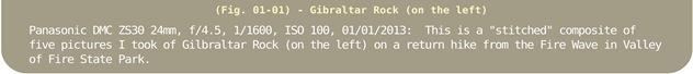 Image Title Bar 09 Gilbraltar Rock