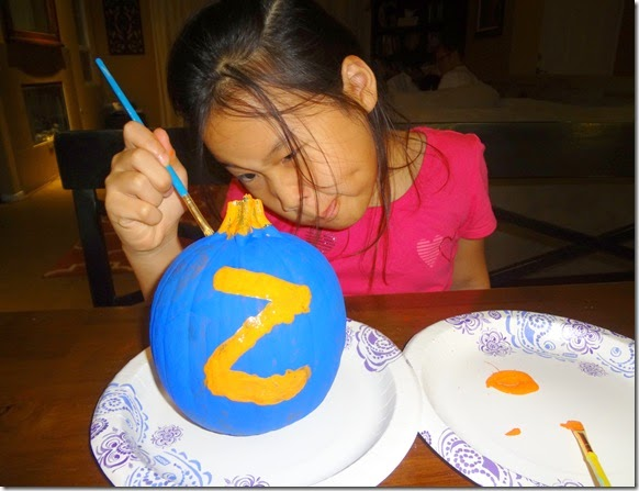 Painting Pumpkins 02
