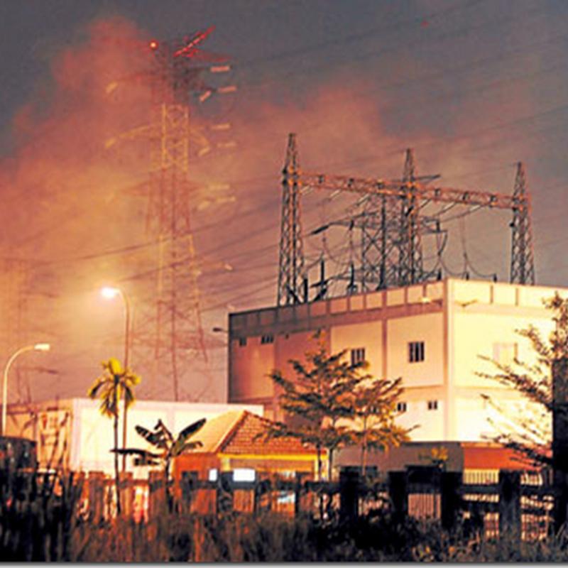 Putrajaya dan Bangi , blackout semalam !