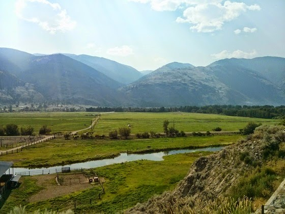 Lush vistas show off the magnificent Similkameen Valley