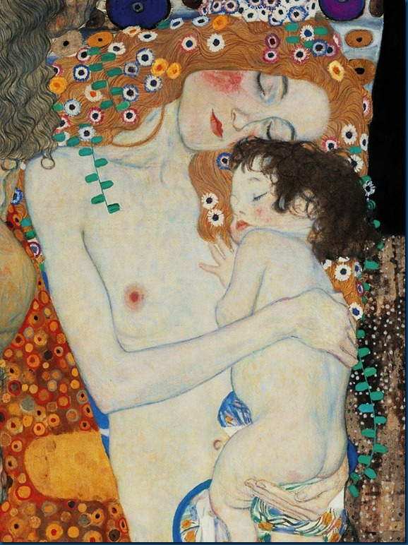 Gustav Klimt (1862-1918).  Mother and Child (2)