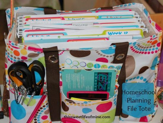 Planning File Tote