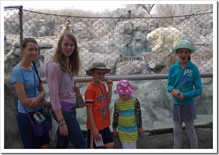 Kids at the zoo