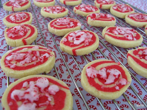 Candt cane cookies