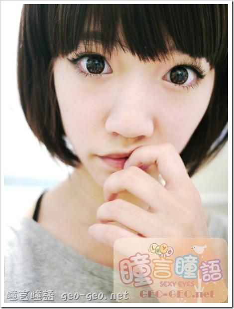 日本HANAKO假髮-【OSS-01】角色扮演動漫COSPLAY彩色短髮♥GEO隱形眼鏡-WT-C24可可愛美人咖