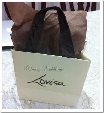Lovisa packaging