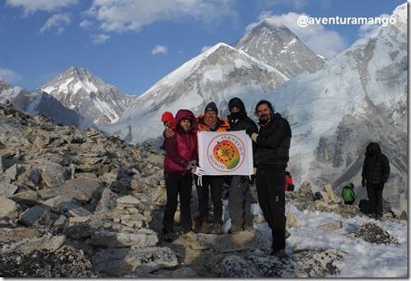 No Kala Patthar, com o Everest no horizonte