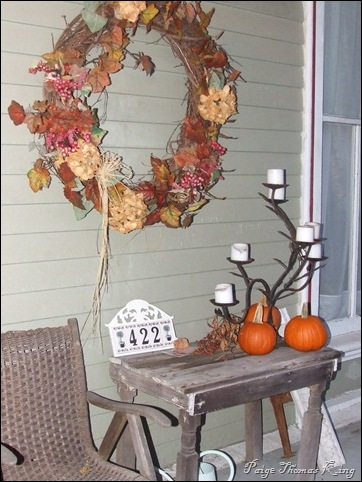 porch wreath