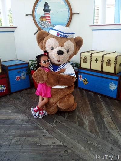 Baby Girl with Duffy