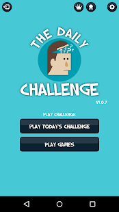 The Daily Challenge - screenshot
