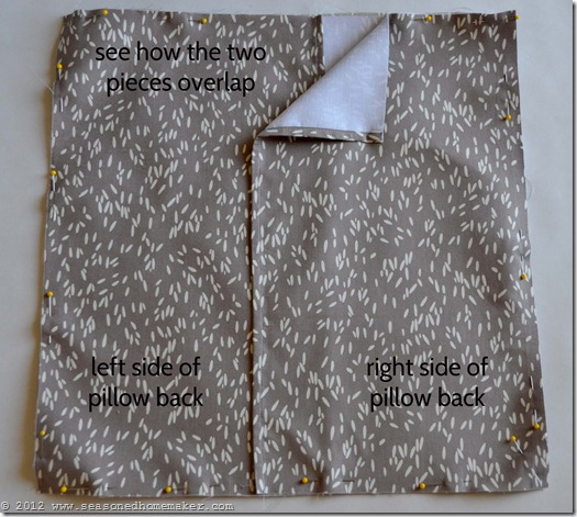 How to Sew a Pillow 26
