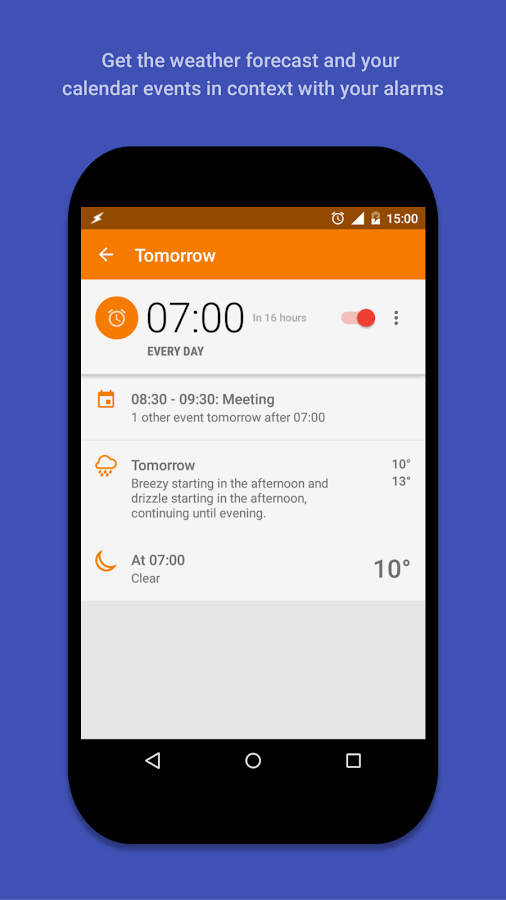 AlarmPad - Alarm clock PRO Screenshot 3