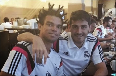 Pepe con nuevo look