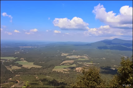 overlook at Fort Mountain SP