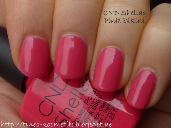 CND Shellac<br />Pink Bikini