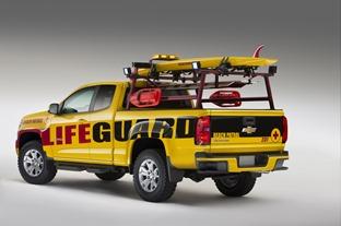 2015 Chevrolet Colorado Show Truck