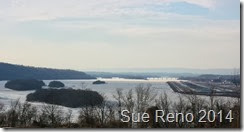 Ice on the Susquehanna River, 2/2014, by Sue Reno, Image 15