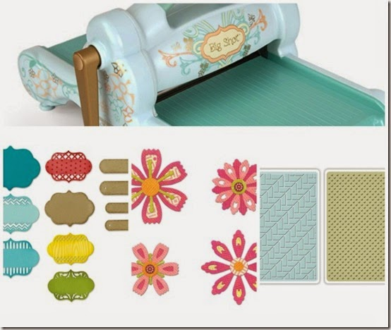 cafe creativo - Anna Draicchio - sizzix big shot - card flower label 2