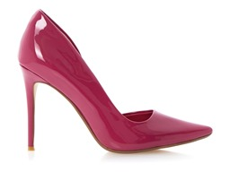 Dune London CERINA pink patent 499 AED