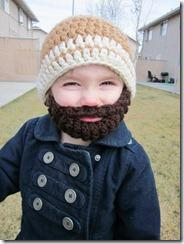 beard beanie knit etsy