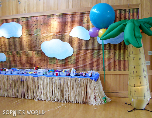 Monkey party decor 01