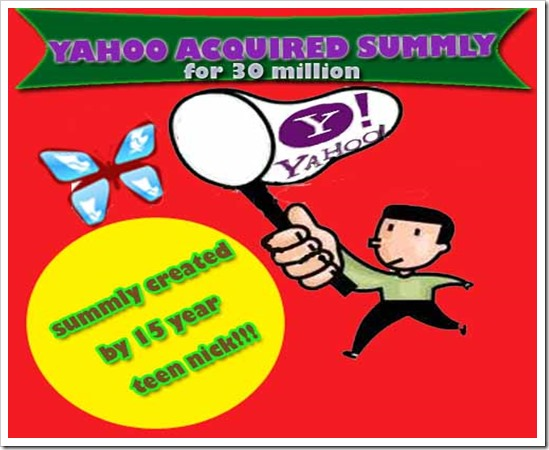 Yahoo Acquired Summly
