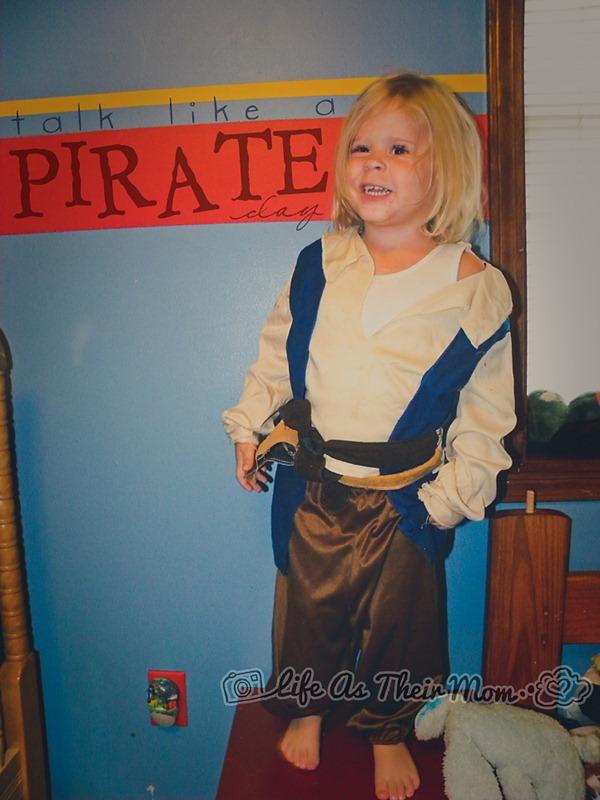 talk like a pirate day 3- WW- Life as Their Mom