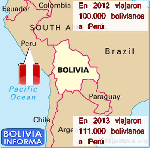 Bolivianos en Perú