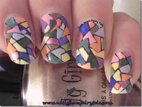 mosaic nail art 4