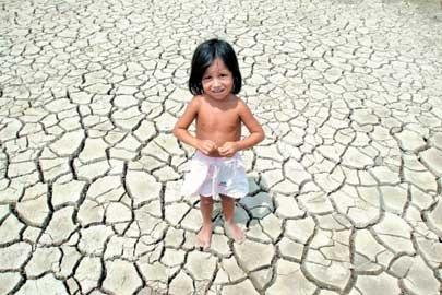 falta de agua no mundo