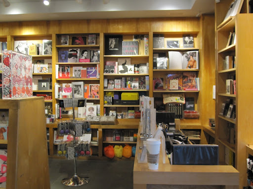 The shop is small but filled with so many amazing books. Here is the register and a back corner of the store. Several vintage books can be found near the register.