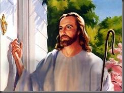 Jesus de Nazare Pastor bate a sua casa